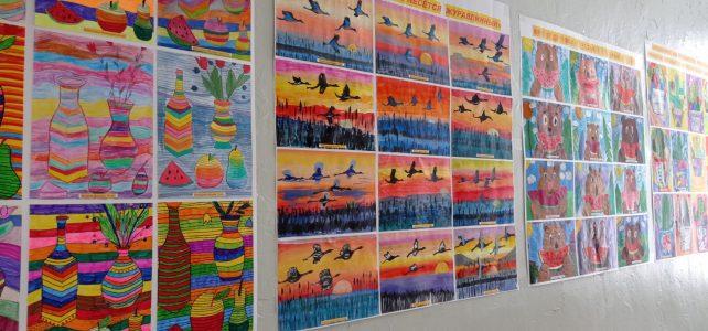 Школьный этап II районного фестиваля-конкурса детского творчества «Мир, в котором мы живём»